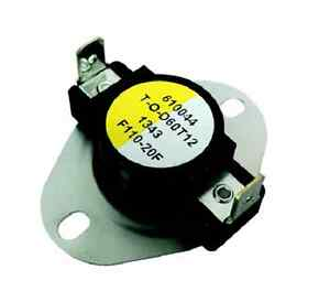 Image Is Loading Supco Shf110 Fan Limit Control Thermostat Close On