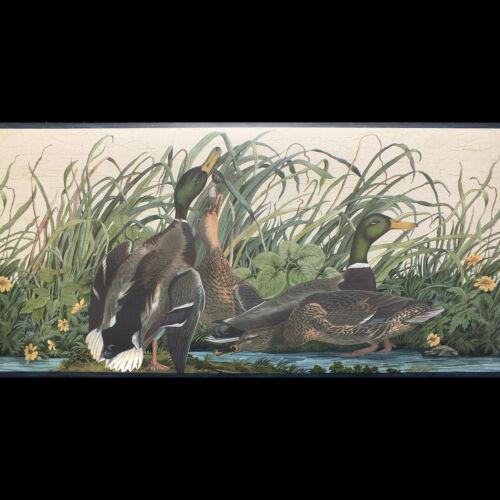 Park View 26cm wide x 4.57m long Ducks Wallpaper Border