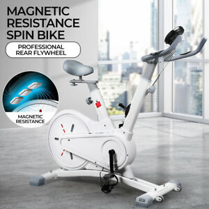 Spin Bike Magnetic Resistance Fitness Exercise Bike Flywheel Home Gym Workout