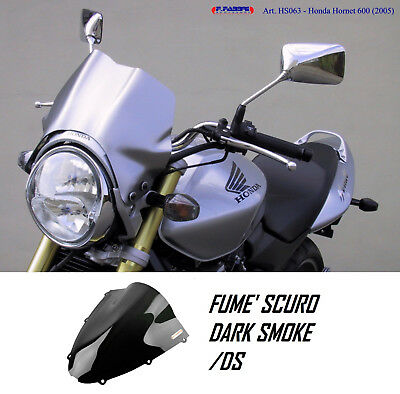 Y056//TC FABBRI Cupolino Sport Cromato Plexi Fumé per Yamaha FZ6 N 2006 2007