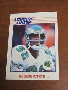 Reggie White 1988 Kenner Starting Lineup Card - Philadelphia Eagles
