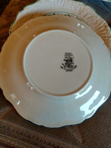 Vintage Published by Ridgway 1814 Renaissance England Porcelain  Saucer