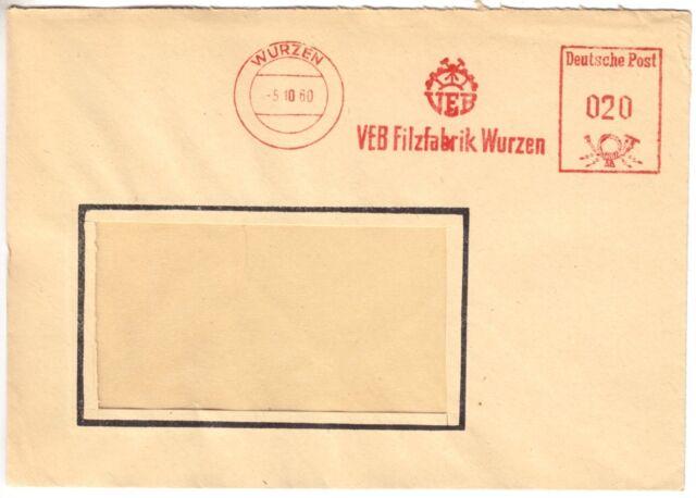 AFS, VEB Filzfabrik Wurzen, o Wurzen, 5.10.60