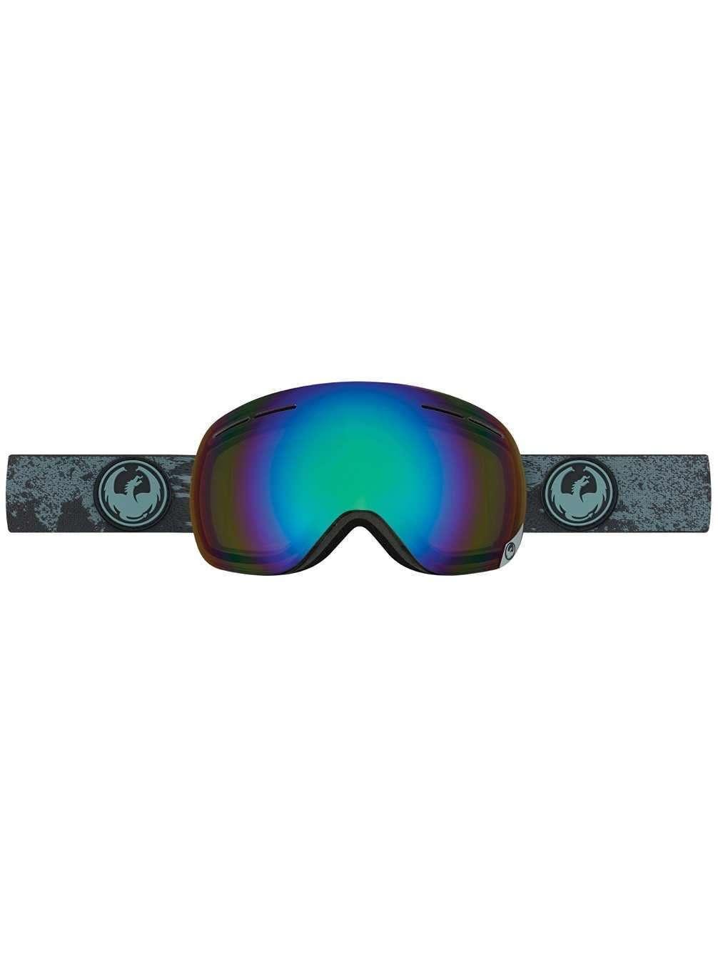 Dragon Alliance X1s Ski Goggle Mason Gey flash green Polarized  NEW