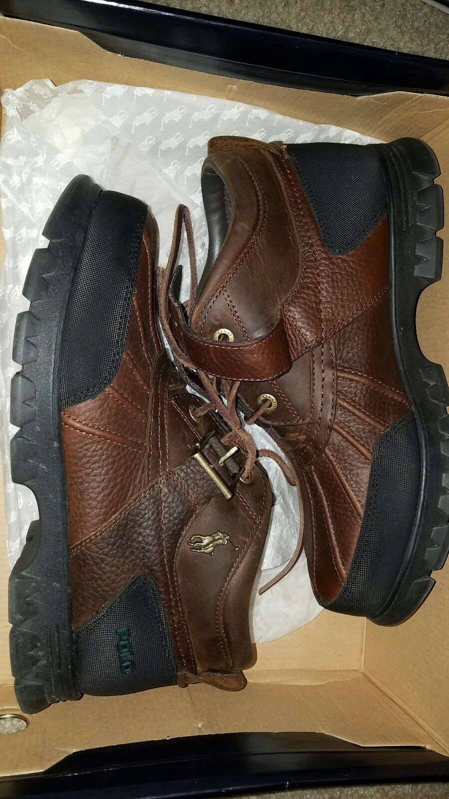 Mens polo boots size 9.5