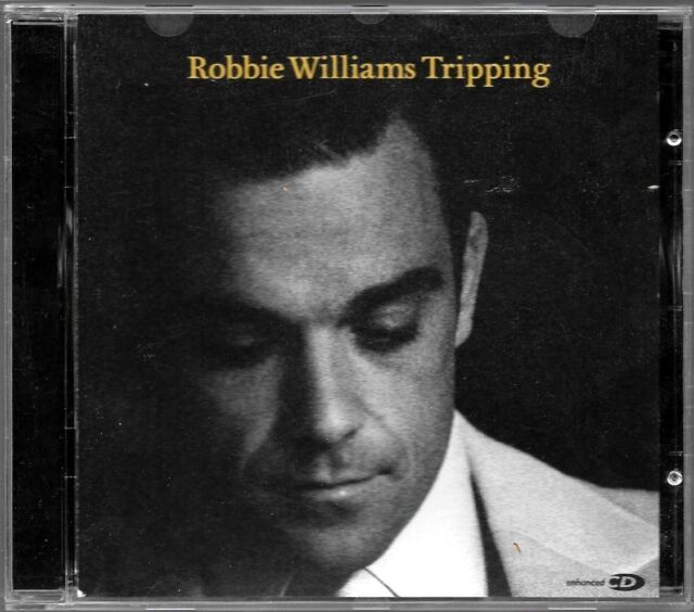 CD SINGLE  / ROBBIE WILLIAMS - TRIPPING / COMME NEUF