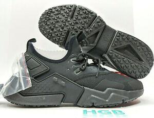 Nike-Air-Huarache-Drift-Triple-pour-homme-Noir-Training-Running-Gym-AH7334-003-Neuf-dans-sa-boite