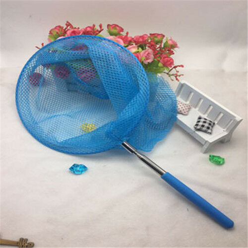 1pc Outdoor Telescopic Butterfly Net Catching Bug Insect Small Fishing Equipment