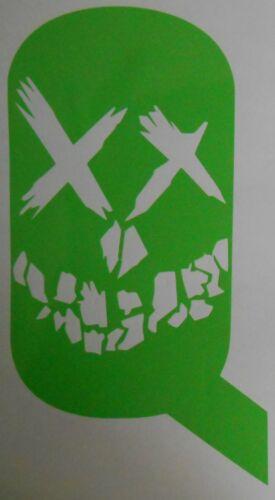 Window Car Sticker Vehicle Wall Suicide Squad Face Logo Bumper