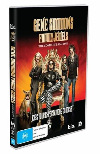 1 of 1 - Gene Simmons' Family Jewels : Season 1 (DVD, 2009, 2-Disc Set)  New  Region 4