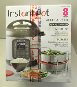 Instant Pot, 8-piece Multi-Use Cooking & Baking Accessory Essentials Kit