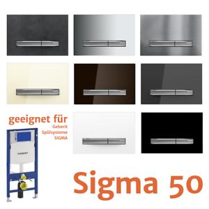 Favorit NEUE 2019* Geberit Sigma 50 Betätigungsplatte / WC Drückerplatte KH11