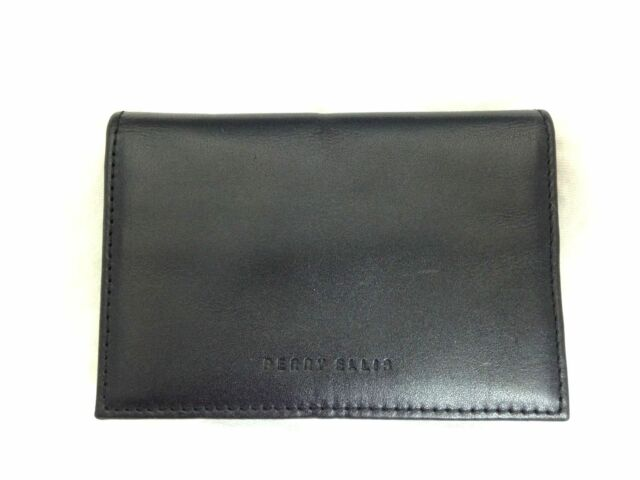 newest 0a75a 2210b Perry Ellis Portfolio Card Case With Money Clip 2 in 1 Gift Set Black