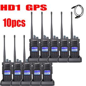 10X GPS Ailunce HD1 Dual Band DMR Digital DCDM TDMA 100000