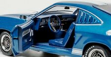 1976 Mustang II Cobra II in Blue with White stripes 1:18 GreenLight 12894