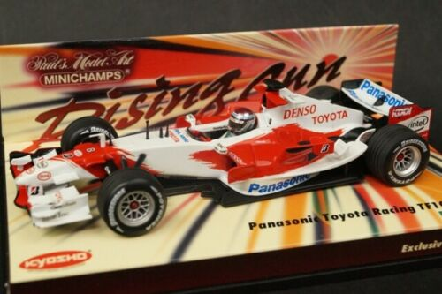 1:43 MINICHAMPS Kyosho 403060208 Panasonic Toyota Racing TF106 J.Trulli 2006 #8