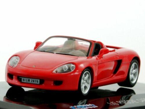 711 1:43 red PORSCHE Carrera GT 2001