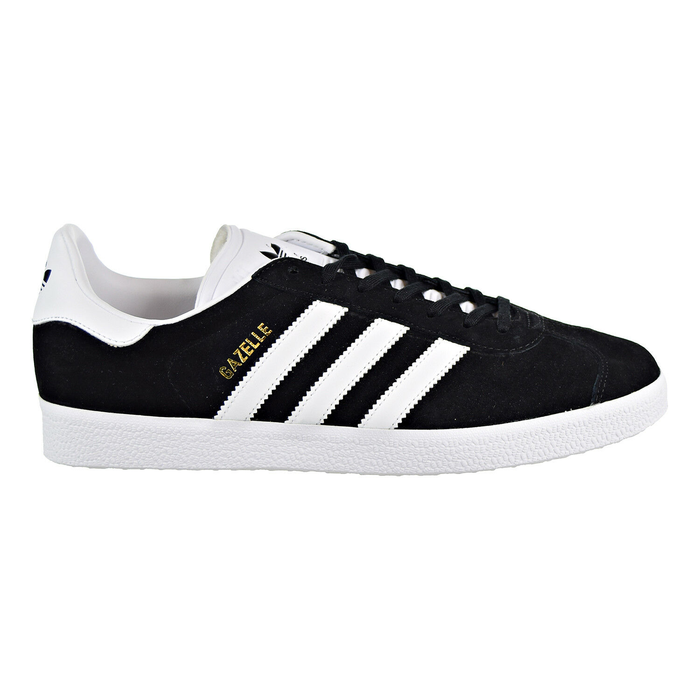 Adidas Originals Gazelle Men's Sneakers Black White Metallic gold BB5476