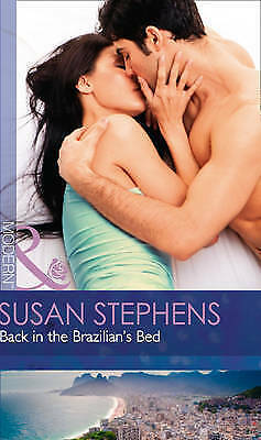 """""""AS NEW"""" Stephens, Susan, Back In The Brazilian's Bed (Hot Brazilian Nights!, Bo"""