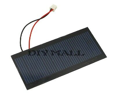 5V 100mA Polycrystalline PET Solar Cell PBC Solar Power Panels