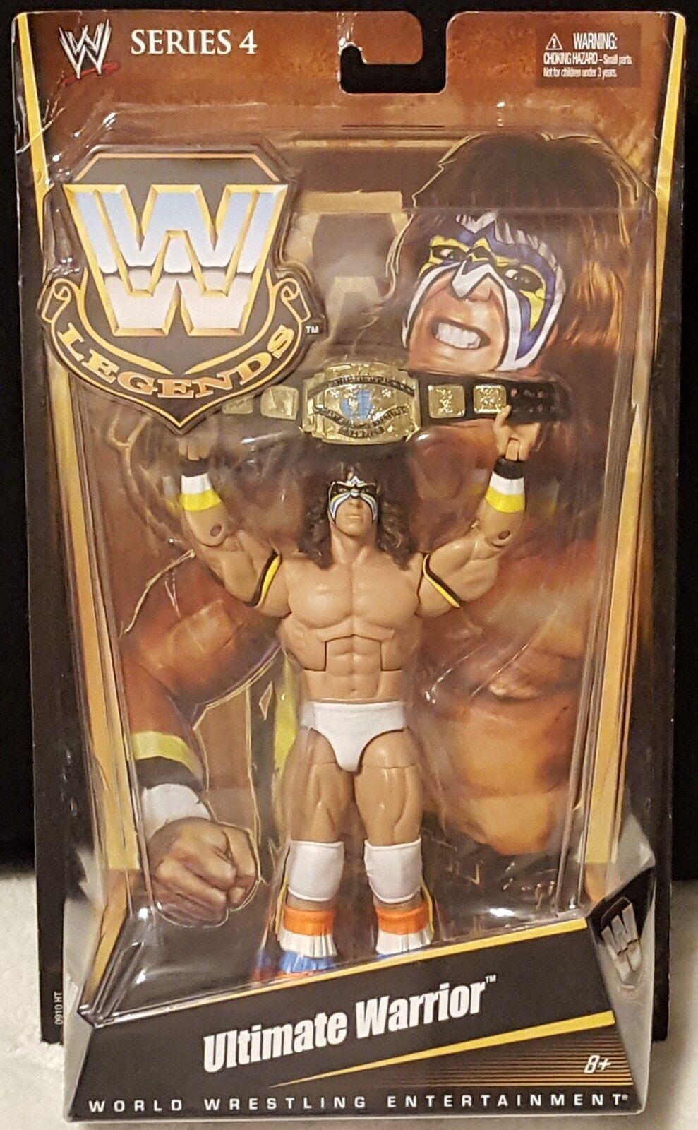tienda en linea WWE Ultimate Warrior Lengends serie serie serie 4 lucha libre Acción Figura Mattel 2010  Todo en alta calidad y bajo precio.