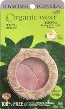 1 New Physicians Formula Organic Wear Blush, #2163 Pink Organics w/Mirror +Brush