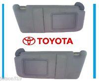 2007 2008 2009 2010 2011 Toyota Camry Gray Grey Sun Visor Set W/o Sun Roof