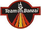 "Buckaroo Banzai Patch- Team Banzai Logo 4"" Embroidered Patch (BZPA-03)"