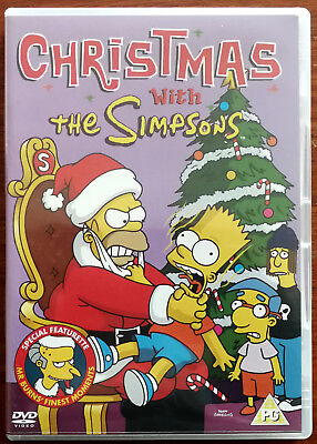 Christmas Simpsons.The Simpsons Christmas Dvd F1 Sgb 28513dvd Ex Ebay