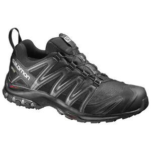 Details about Men's Shoes Hiking Salomon Xa pro 3D GTX (Gore Tex) Black 393322