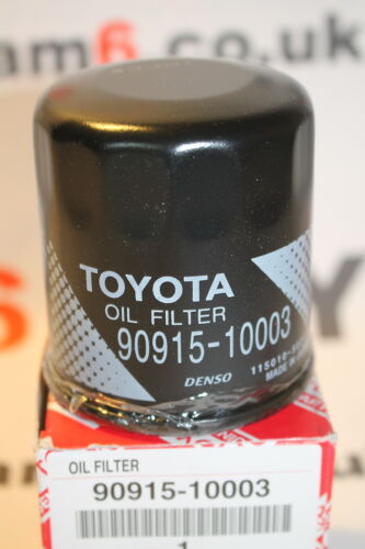 GENUINE TOYOTA OIL FILTER FITS TOYOTA AYGO YARIS MORE 90915-10003