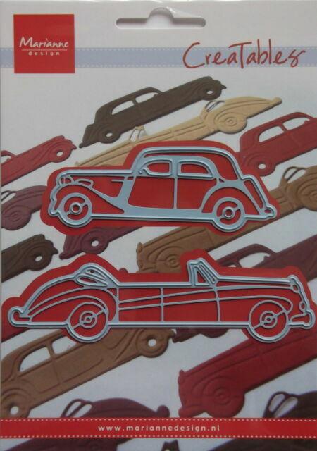 Marianne Design Creatables Cutting Dies Classic Cars LR0198