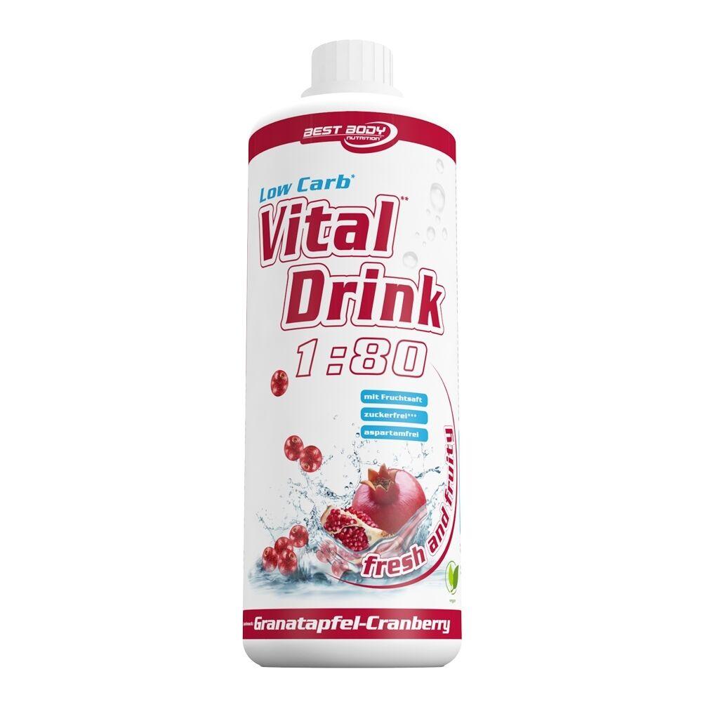 Ltr Best Body Nutrition Low Carb Vital Drink 6x1 6x1 6x1 Ltr. + 1 Dosierpumpe dcbdc6