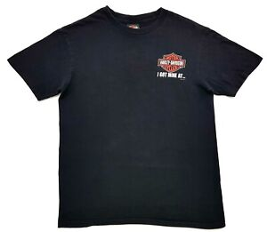 Harley-Davidson-Chesters-Fort-Lauderdale-Sunset-Tee-Black-Size-M-Mens-T-Shirt