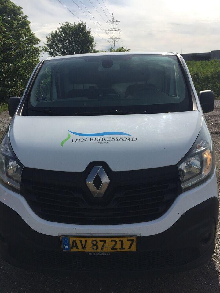 Kølevogn Renault Trafic med Køl
