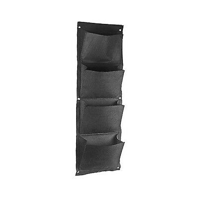 Amgate Gardens 4 Pocket Vertical Wall Garden Planter Wall-mounted Plant