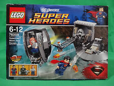 Lego 76009 DC Universe Super Heroes Superman Black Zero Escape Brand New Sealed