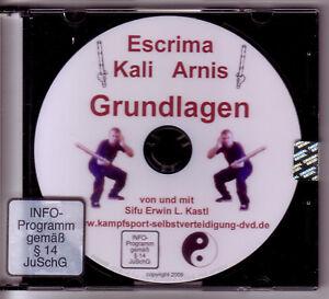 DVD Escrima Kali Arnis Waffenkampf Stockfechten Grundlagen Stockkampf