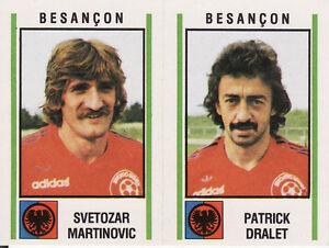 N°515 SMERECKI AMOUYAL FC.LIMOGES VIGNETTE PANINI FOOTBALL 81 STICKER 1981