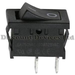 2x-Rocker-Switch-1-Circuit-6A-250V-off-on-I-0-Sign