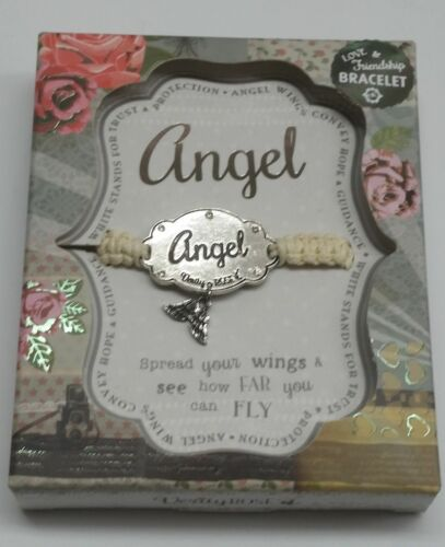 Verity Rose Personalised Love /& Friendship Bracelet with Charm Gift Mum Nan Sis