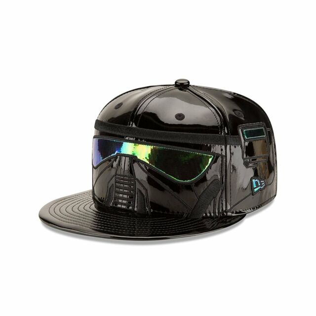 New Era 59Fifty Cap Star Wars Death Trooper Fitted Hat 11380702 Black//Green