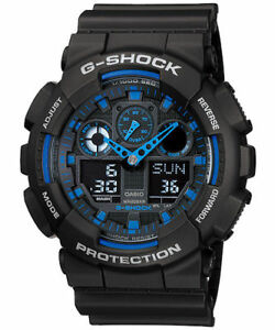 Casio G-Shock GA-100-1A2DR Men's Analog/Digital Watch