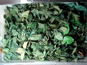 Huge 1 pound lot of loose silk flowers all leaves foliage greenery 36 mightylinksfo