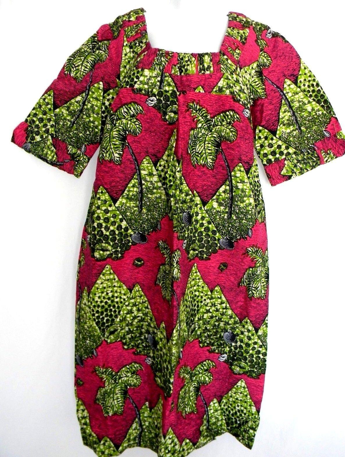 African Wax Größe XL Maxi Dress damen Detail Square Neckline & Cuffs Ankara Dress