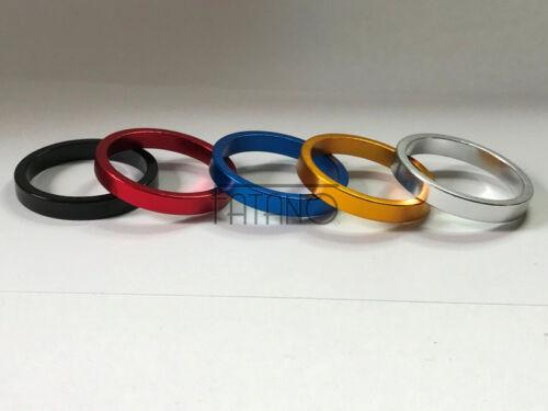 Alu Spacer Fahrrad Vorbau Distanz Ring A HEAD 1 1//8 Zoll Steuersatz 5mm Farbwahl
