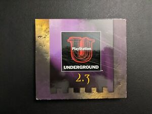 Playstation Underground Vol 2 Issue 3 Sony Playstation 1 PS1 MINT discs Complete