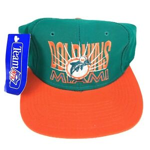 e74e6088 New with Tags Vintage Miami Dolphins Hat with 1989 Logo - Free ...