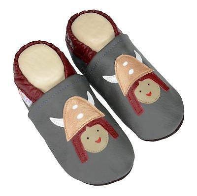 Obbediente Pantofole's Liya Pantofole Krabbelpuschen Scarpe Bambini Da Giardino - #544 Vichinghi-huhe- #544 Wikinger It-it