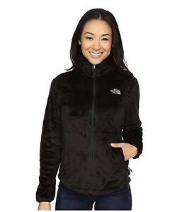The-North-Face-Women-039-s-Osito-2-Fleece-Jacket-Zip-Winter-Coat-Black-XS-S-M-L-XL